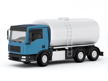 Gasoline Tank Truck Stock Image