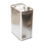 Gasoline Tin Can III Royalty Free Stock Photography