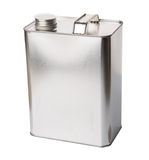 Gasoline Tin Can IX Royalty Free Stock Image