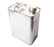 Gasoline Tin Can XIV Royalty Free Stock Photo