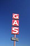 Gasolinera abandonada Imagenes de archivo