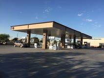 Gasolinera de Chevron Imagen de archivo libre de regalías
