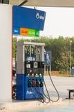 Gasolinera de la gasolina Imagen de archivo libre de regalías