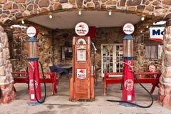 Gasolinera de la ruta 66 del vintage Fotografía de archivo libre de regalías