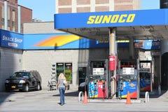 Gasolinera de Sunoco Foto de archivo