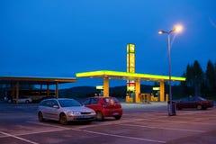 Gasolinera del ABS Fotografía de archivo
