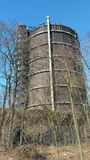 Gasometer Oberhausen lizenzfreie stockfotos