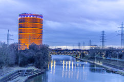 Gasometer Oberhausen Royalty Free Stock Photos
