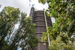 Gasometer Oberhausen Deutschland stockfotografie