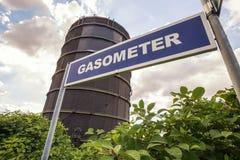 Gasometer oberhausen germany Stock Photo