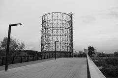 Gasometer Stock Images