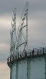 Gasometer-Treppe Lizenzfreies Stockfoto