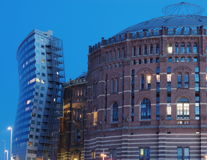 Gasometer-Vienna Royalty Free Stock Photo