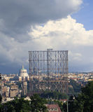 Gasometro in Rome Royalty Free Stock Images