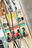 Gasonline pumps Royalty Free Stock Images