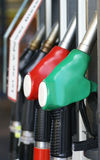 Gasonline pumps. Stock Image