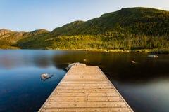 Gaspésie nationalpark - amerikansk sjö Royaltyfri Bild