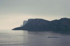 Gaspésie海岸 免版税图库摄影
