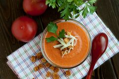 Gaspacho Royalty Free Stock Images
