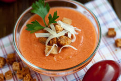 Gaspacho Stock Foto