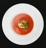 Gaspacho (potage froid d'été) Image stock