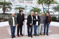 Gaspar Noe, Benicio Del Toro, Laurent Cantet, Elia Royalty Free Stock Images