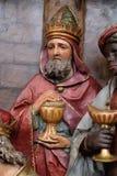 Gaspar, unos de los reyes magos bíblicos Fotos de archivo
