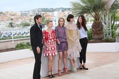 Gaspard Ulliel, Lily-Rose Depp, Soko and Stephanie Di Giusto Stock Image
