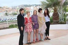 Gaspard Ulliel, róża Depp, Soko i Stephanie, Di Giusto Obraz Stock