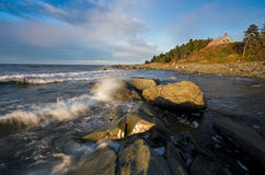 Gaspesie Landscape Stock Photos