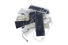 Gaspillage d'électronique Images stock
