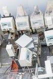 Gaspillage d'électronique Photos stock