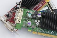 Gaspillage de matériel électrique et électronique Image libre de droits