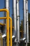 gaspipeline Royaltyfri Foto