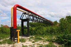 gaspipeline Royaltyfri Fotografi