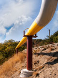 gaspipeline Royaltyfria Bilder
