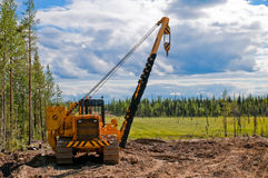 Gaspipeline construction (2) Stock Photo