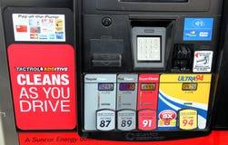 Gaspreis stockfotografie