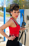 Gaspump Fotografia Stock