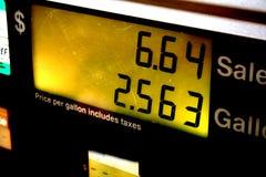 Gaspumpe Lizenzfreies Stockbild