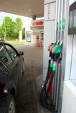 Gaspumpen Stockfoto