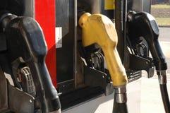 Gaspumpen Lizenzfreies Stockfoto