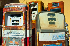 Gaspumps Royalty Free Stock Images