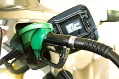 gaspumpstation Arkivbild