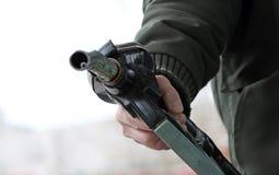 Gass-Pumpendüse Stockbild