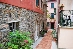 Gasse bei Montemarcello stockfotografie