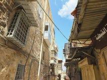 Gasse in der alten Stadt Lizenzfreies Stockfoto