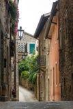 Gasse in der Mitte von San Marino lizenzfreie stockfotografie