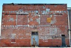 Gasse in historischem im Stadtzentrum gelegenem Rocky Mount, North Carolina Lizenzfreie Stockfotos