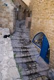 Gasse in Jaffa Lizenzfreie Stockbilder